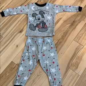 Disney's Mickey Mouse Toddler PJ Set